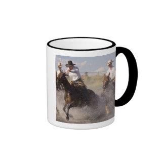 USA Oregon Seneca Ponderosa Ranch Cowboys Coffee Mugs