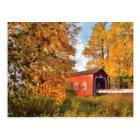 USA, Oregon. Shimanek Covered Bridge In Morning Postcard