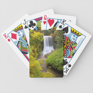 USA, Oregon, Silver Falls State Park 3 Bicycle Playing Cards
