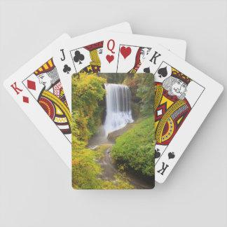 USA, Oregon, Silver Falls State Park 3 Card Decks