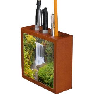 USA, Oregon, Silver Falls State Park 3 Pencil/Pen Holder