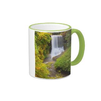 USA, Oregon, Silver Falls State Park 3 Ringer Mug
