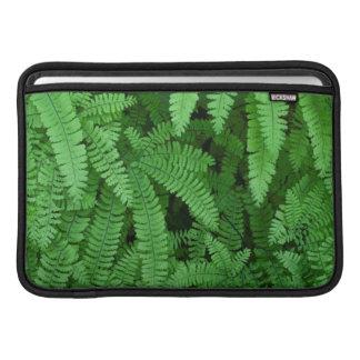 USA, Oregon, Silverton. Maidenhair Ferns Sleeve For MacBook Air