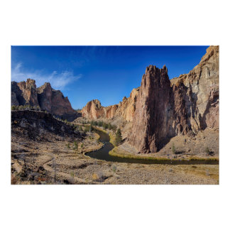 USA, Oregon, Smith Rock State Park Poster