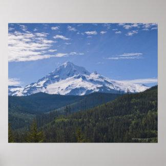 USA, Oregon, View of Mount Hood Poster