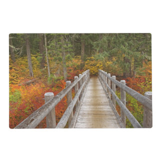 USA, Oregon, Willamette National Forest. Laminated Place Mat