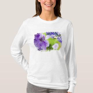 USA, Oregon, Willamette Valley, Larkspur Close 2 T-Shirt