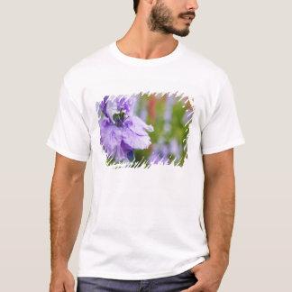 USA, Oregon, Willamette Valley, Larkspur Close 3 T-Shirt