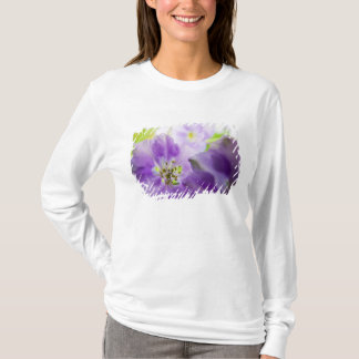 USA, Oregon, Willamette Valley, Larkspur Close T-Shirt