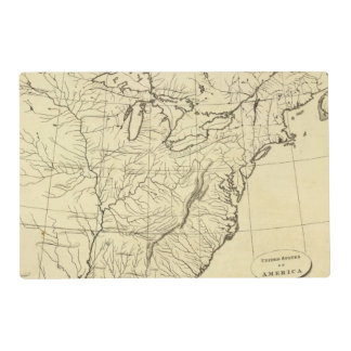 USA outline Placemat