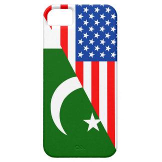 usa Pakistan country half flag america symbol iPhone SE/5/5s Case