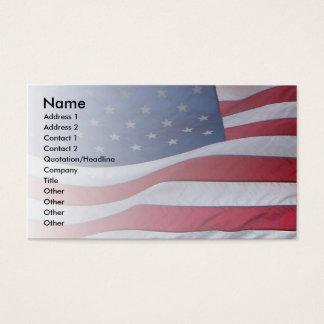 USA Patriot Business Card