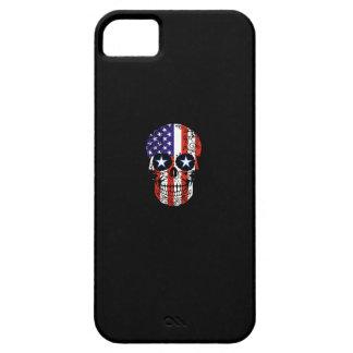 USA Patriotic American Flag Sugar Skull iPhone 5 Case