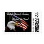 USA Patriotic American Postage Stamp