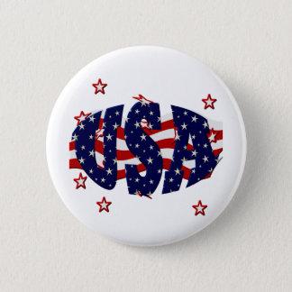 USA-Patriotic Button