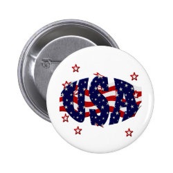 USA-Patriotic Buttons