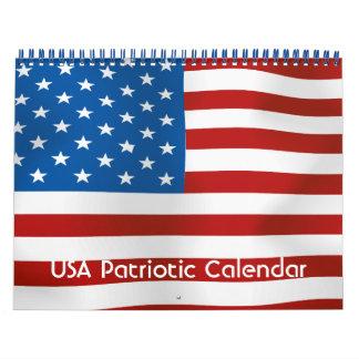 USA Patriotic Calendar