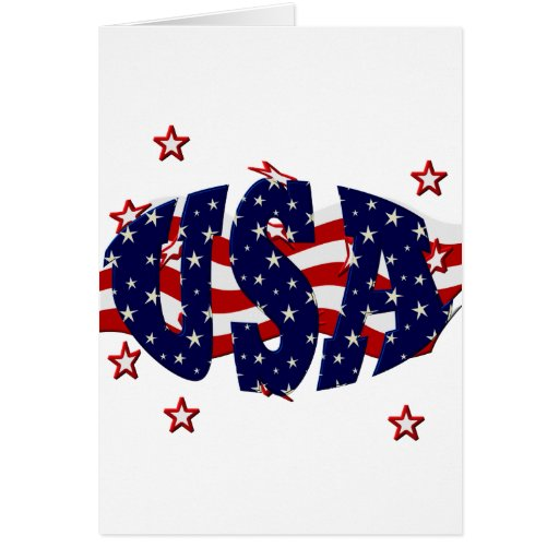 USA-Patriotic Card