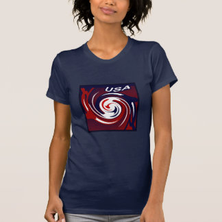 USA Patriotic Fashion Shirt 4 Her - Red/White/Blue