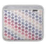 USA Patriotic Faux Glitter Stars Sleeve For iPads
