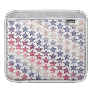 USA Themed USA Patriotic Faux Glitter Stars Sleeve For iPads
