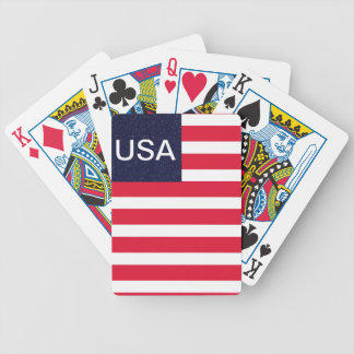 USA Patriotic Fourth of July Independence Cards Bicycle Playing Cards