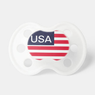 USA Patriotic Fourth of July Independence Day Paci Pacifier