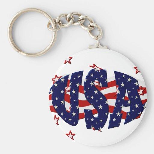 USA-Patriotic Keychains