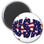 USA-Patriotic Magnets