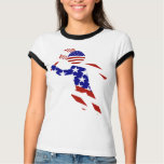 USA Patriotic Men's Tennis Player Shirts