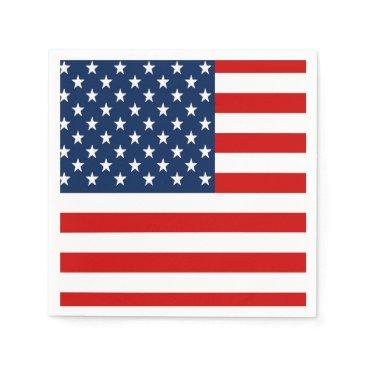 USA Themed USA Patriotic Napkins