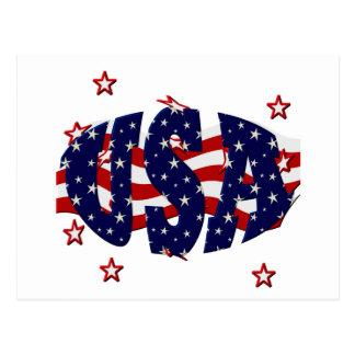 USA-Patriotic Postcard