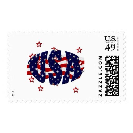 USA-Patriotic Stamps