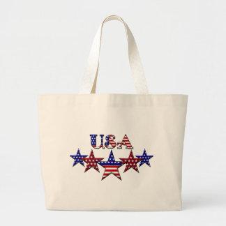 USA Patriotic tote bag