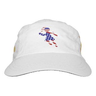 USA Patriotic Women's Tennis Player Headsweats Hat