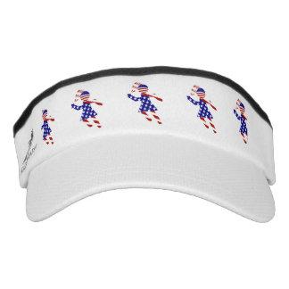 USA Patriotic Women's Tennis Player Headsweats Visor