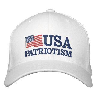 USA Patriotism FLag W Baseball Cap