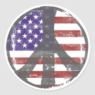 USA Peace stickers