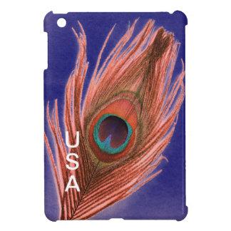 USA Peacock Feather iPad Mini Cover