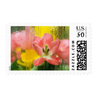 USA, Pennsylvania. Abstract tulip impression Postage