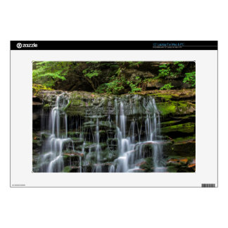 "USA, Pennsylvania, Benton. Waterfall In Ricketts Skin For 15"" Laptop"