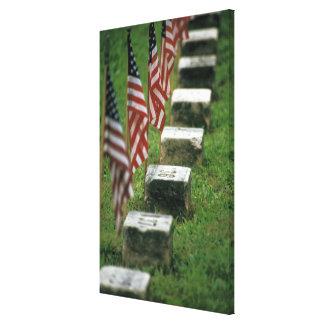 USA, Pennsylvania, Gettysburg. Civil war Canvas Print