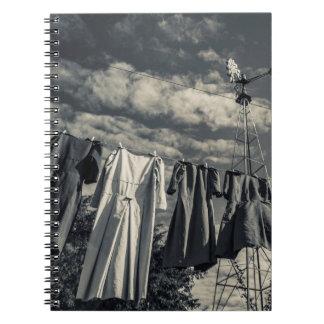 USA, Pennsylvania, Pennsylvania Dutch Country 1 Spiral Notebook