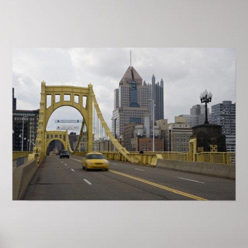 USA, Pennsylvania, Pittsburgh. The 6th Street Poster
