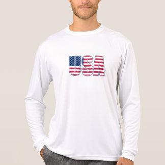 USA Performance Micro-Fiber Long Sleeve (02) T Shirt