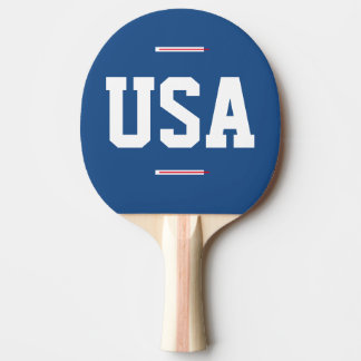 USA Ping Pong Paddle