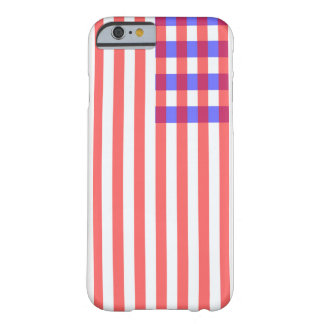 USA PLAID FLAG BARELY THERE iPhone 6 CASE