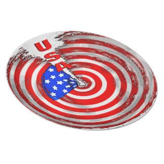USA PARTY PLATES