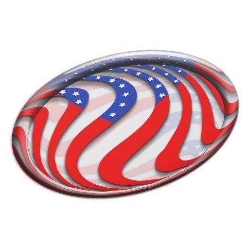 USA PLATE