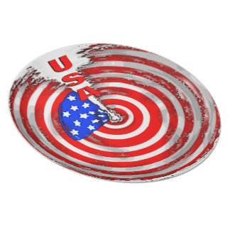 USA PARTY PLATE